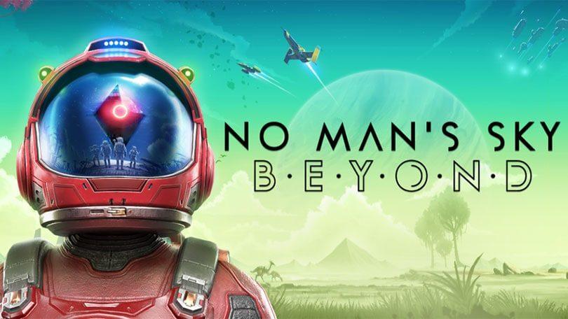 No Man's Sky: Beyond Keyart