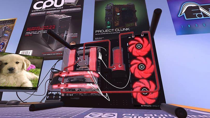 PC Building Simulator: Screenshot