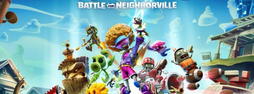 Plants vs. Zombies: Schlacht um Neighborville - Keyart
