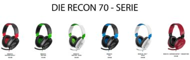 Turtle Beach: Recon 70 - Serie