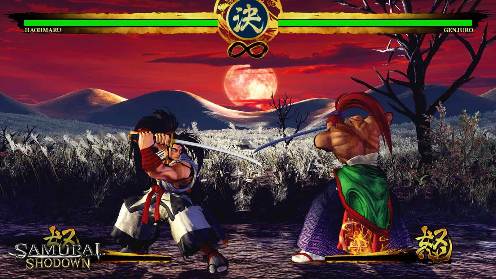 Samurai Shodown: Screenshot