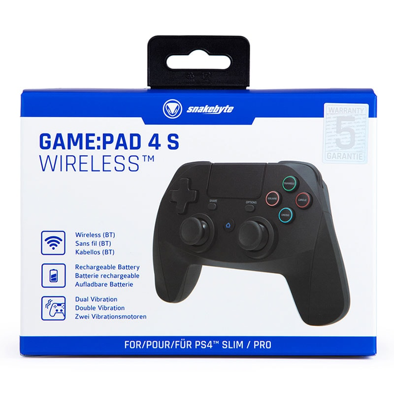 snakebyte Game:Pad 4 S Wireless