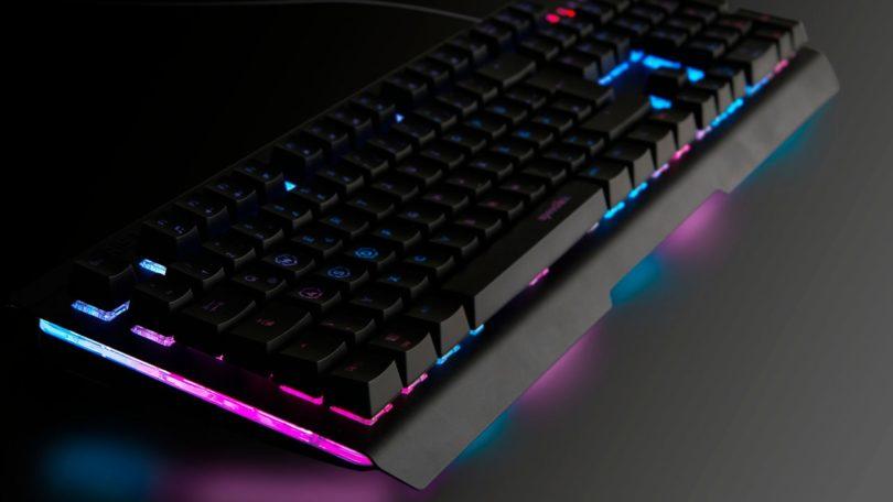 Mechanisierte Macht in Metall: Speedlink IZERIS – Gaming-Tastatur mit semi-mechanischen Tasten