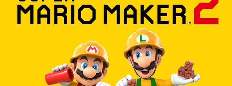 Super Mario Maker 2: Logo