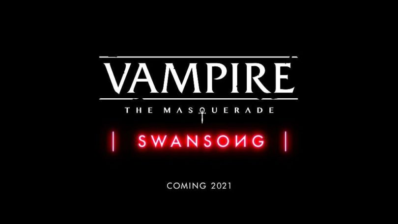 Vampire: The Masquerade - Swansong - Logo