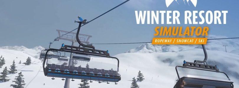 Winter Resort Simulator: erscheint am 12. Dezember